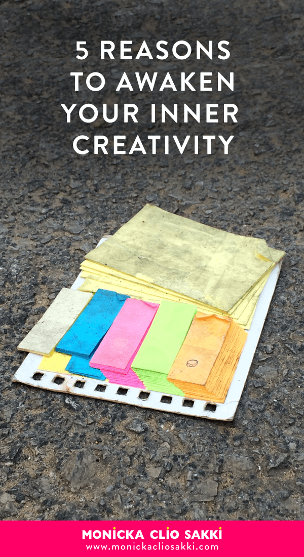 Are you still not feeling creative? Here are 5 Reasons to Awaken Your Inner Creativity Code!