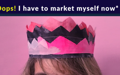 *Oops! I have to market myself now* –  a new FB live series